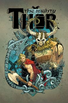 The Mighty Thor #6 cover by RDauterman