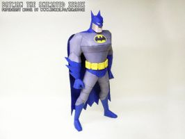 papercraft Batman TAS animation by ninjatoespapercraft