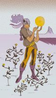 Page of Pentacles by auryn