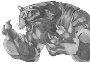 Bloody Roar 2: Long the tiger by boyhumbug