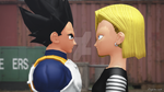 MMD - Tonight I'm... (Android18 x Vegeta) by CogetaCats