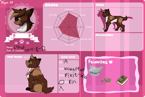 Rose Ref by CloudClawArts