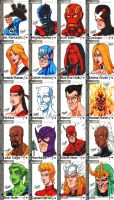 Fleer Retro Marvel - Part 3 by SeanRM