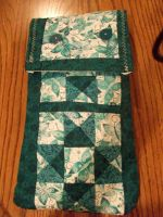 Quilted Teal Bag by Smokepaw