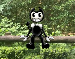 Bendy in real life by SilvybOOm
