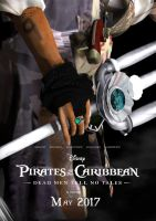 Pirates of the Caribbean 5 Movie Plakat  Fanmade by KomyFly