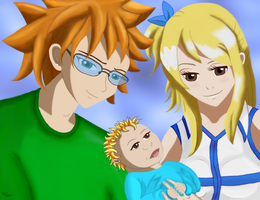 Lion's Pride - Loke, Lucy, and Luke by Rhov