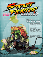 STREET FIGHTER DESTINY: FERRAL BLANKA by shambolic-art