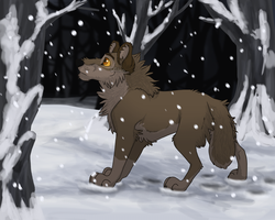 Balto In the Woods by Mikaces