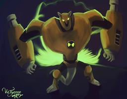 Ben 10 - Armadrillo (REMAKE) by VicTycoon