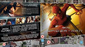 Spider-man Blu-Ray cover by MrPacinoHead