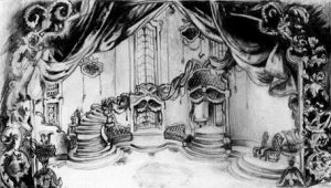 Theatre Drawing by JakeGreen