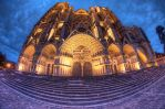 cathedrale bourges outside by Tong4ri