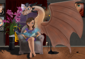 The Magic Of Reading by NovaArt24