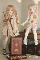 Dollmeet Fat Dragon: Double cute by darknaito
