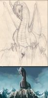 Smaug WIP stages by AndyFairhurst