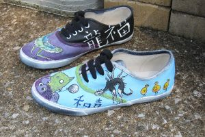 Sketchbook Shoes by Ditchmaster