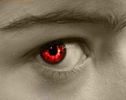Sharingan Eye by Lilianne