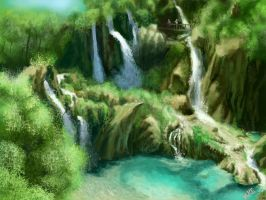 Speed Painting IV by MikeAzevedo