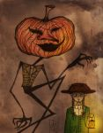 Pumpkin Man by AndreeaIuliana
