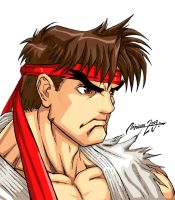 CHARACTER SELECT - RYU by viniciusmt2007