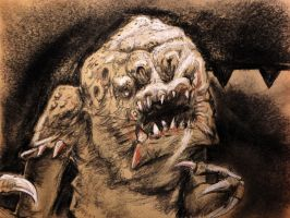 Oh no! the Rancor! by philippeL