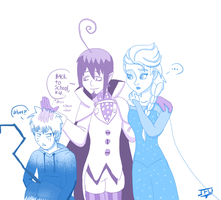 Reasons why I ship Mephy X Elsa by JackFrostOverland