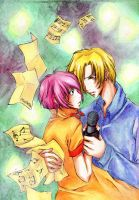 Gravitation fanart by Tanashi