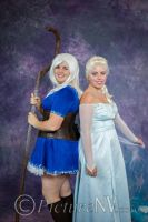 Jelsa Cosplay - Elsa and Jack Frost by SMMB25