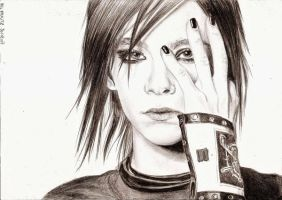 Bill Kaulitz 23 by crayon2papier