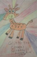 Glitter the courage graffie by littlesonic1234