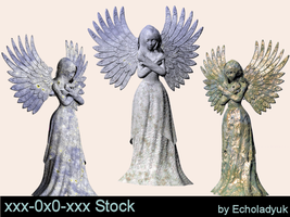 Statues3 pack of 3 by xxx-0x0-xxx