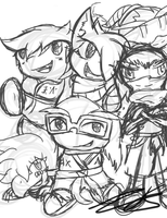 The Gaijins *WIP* by Nights2Dreams