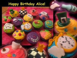Alice Cupcakes by furbolly21