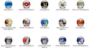 Games 7 Icons -Globe- by jamest