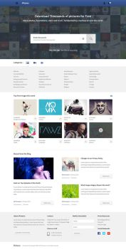 Stock Images Website by azyrusmax
