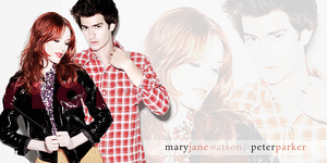 Peter and Mary Jane by mabelcaron