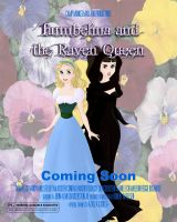 Thumbelina and the Raven Queen by FluidGirl82