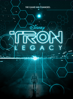 Tron Movie Poster by Yeti-Labs