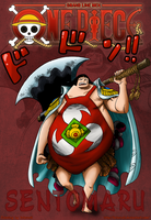 One Piece 599 Sentomaru by Infernoll