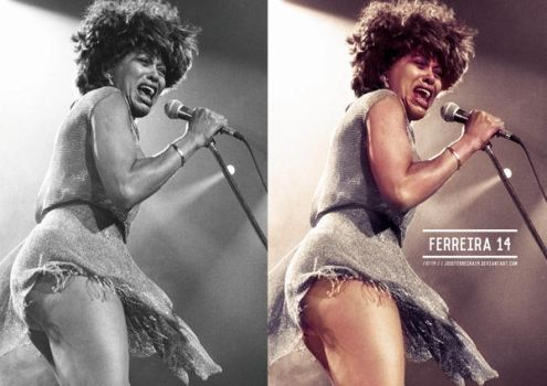 Tina Turner Before And After by JoseFerreira14