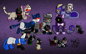 Deceptikitty Pack by wachey