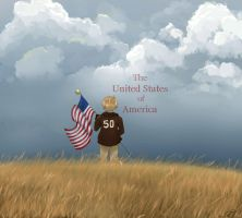 the United States of America by foxyjoy
