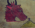 Bilbo and Smaug by Stranger-In-Paradise