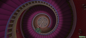 That's why you don't play around the stairs, Anna. by TeleVue
