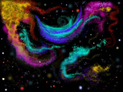 Space Practice by Belclairade