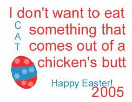 Happy Easter 2005 by CatherineAllison