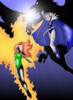 X-Men vs. Teen Titans_2 by MistressD