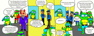 TMNT- Turtle Soup's On Page 16 by LuciferTheShort