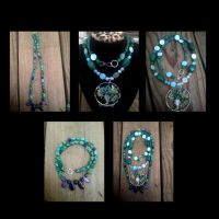 New necklaces by WyckedDreamsDesigns